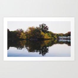Central Park Fall Series 5 Art Print