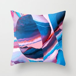 Crystalized Mirror Throw Pillow
