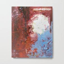 Erase the Damage by Nadia J Art Metal Print