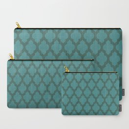 Turquiose Moroccan Carry-All Pouch