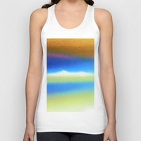 bands Tank Tops featuring Colour Bands by Brian Raggatt