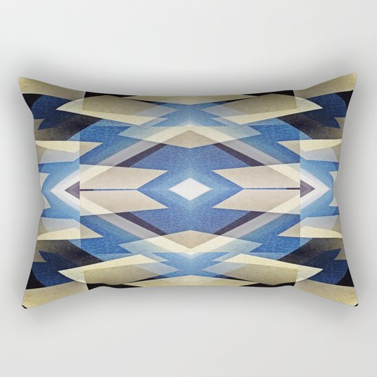 BlueStarNova Rectangular Pillow
