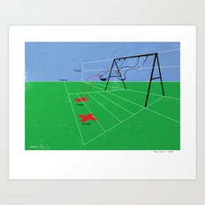 The Object Is Simple Art Print