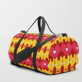 Iron Man Pattern Duffle Bag