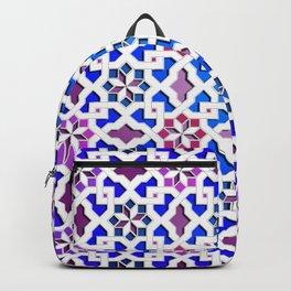 Beautiful oriental flower pattern 9 Backpack