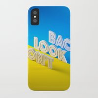 Don't Look Back iPhone X Slim Case