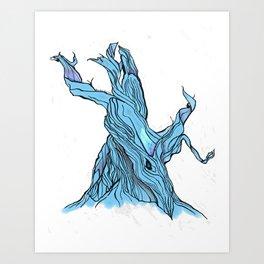 Twists And Turns. /// Art Print