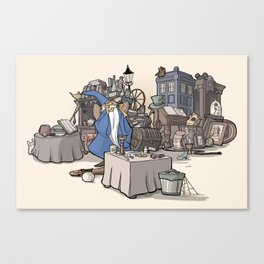 Collection of Curiosities Canvas Print
