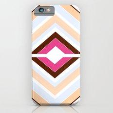 Mod stripes in raspberry Slim Case iPhone 6s