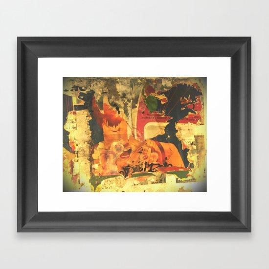 NY Framed Art Print