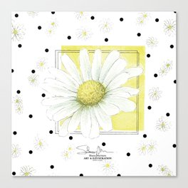 Daisyflower Canvas Print