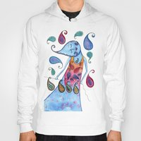 paisley Hoodies featuring Paisley by Jessie Lilac