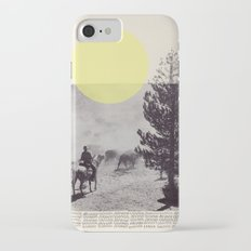 Many a trip continues long after movement in time and space have ceased.  Slim Case iPhone 7