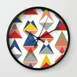 Triangular Affair II Wall Clock