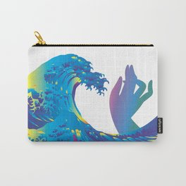 Hokusai Rainbow & Hand Carry-All Pouch