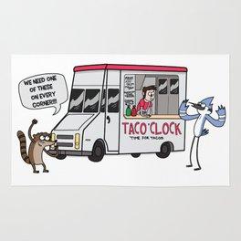 A Taco Truck on EVERY Corner!! Rug