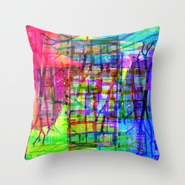 Visually speaking, it's an acknowledgment of lack. [RGB] Throw Pillow