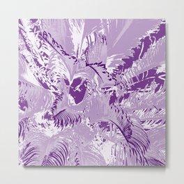 The mask - purple Metal Print