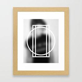 Don't Think 02 Framed Art Print