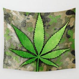 Weed Leaf Wall Tapestry