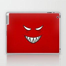 Evil Grin Evil Eyes Laptop & iPad Skin