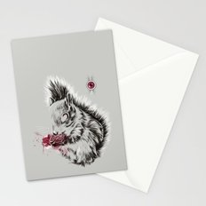 Zombie Squirrel Stationery Cards
