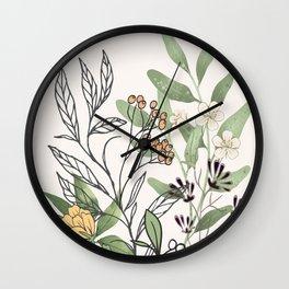 Spring Garden II Wall Clock