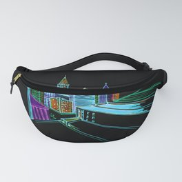 Vibrant city 2 Fanny Pack