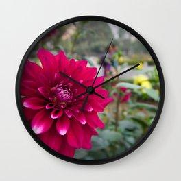 A Walk Through the Garden - India Wall Clock
