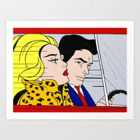 Riding in Cars with Boys Art Print