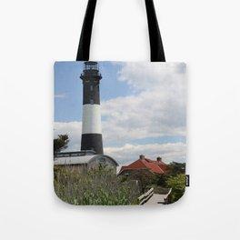 Walkway To Fire Island Lighthouse Tote Bag