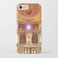 library iPhone & iPod Cases featuring Library by howardismycat