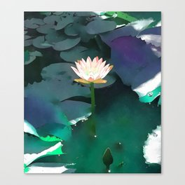 Joie de vivre ~ Lotus Art #society6 Canvas Print