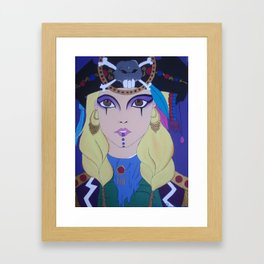 Grace O'Malley, the Pirate Queen Framed Art Print