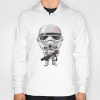 storm trooper Hoodies featuring STORM TROOPER by Leoren