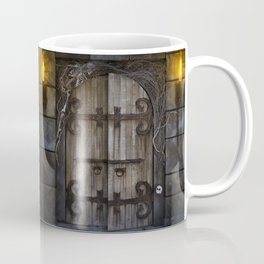 Gothic Spooky Door Coffee Mug