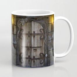 Gothic Spooky Door Coffee Mug