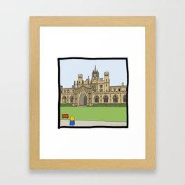 Cambridge struggles: St Johns Framed Art Print
