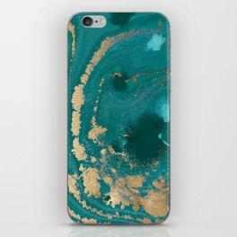 Fluid Gold iPhone Skin