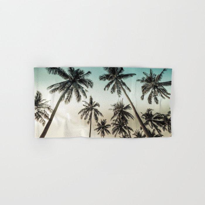 Palm Tree Bath Towel Tyres2c