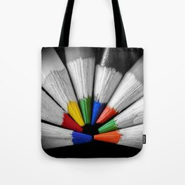 Colour Your Walls Tote Bag