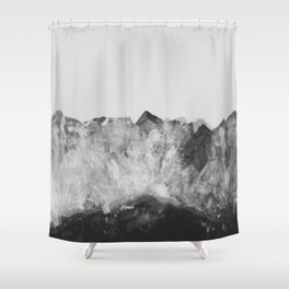 Crystal Soul Geode Shower Curtain
