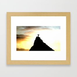 The Doc Goes Around the World - Rio Framed Art Print