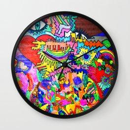 Pop Up Love Wall Clock