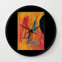 Peaceful Mystic Wall Clock