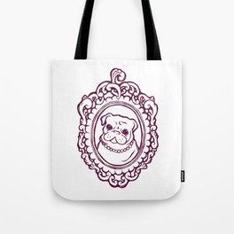 Pug Princess Tote Bag