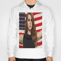 american Hoodies featuring American by Michelle Rosario
