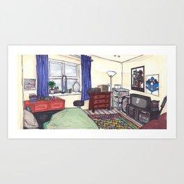 Teenagers.wav Art Print