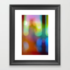 Imma Stranger Myself Here Framed Art Print