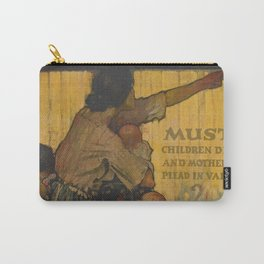 Liberty Bonds Vintage Poster Mother Baby Carry-All Pouch